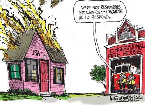 Republican arsonists