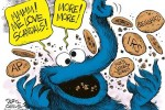 cookie monster elephant