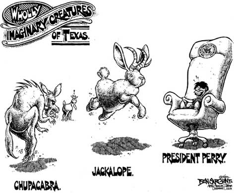 Imaginary Texas Animals