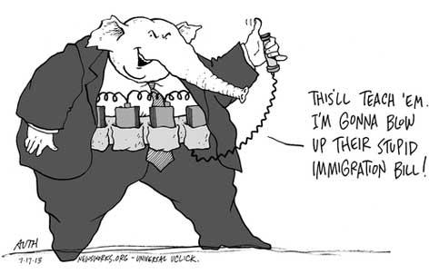 gop blows up immigration bill