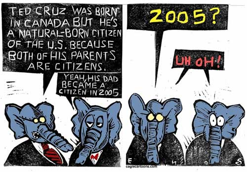 ted cruz birthers