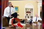 obama foot on desk
