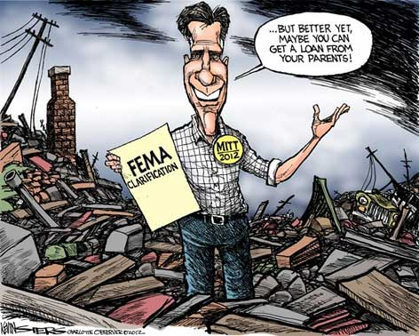 Romney no FEMA, ask your parents