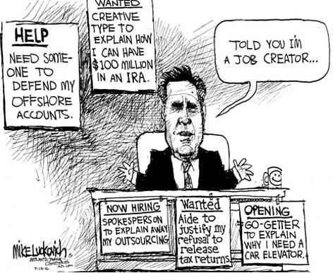 Mitt Romney Hiring lukovich