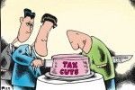 romney ryan cut the cake