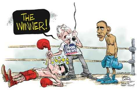 Romney wins all debates
