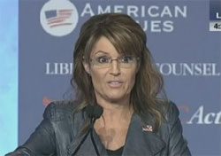 Values Voter Summit with Sarah Palin, Stephen Colbert