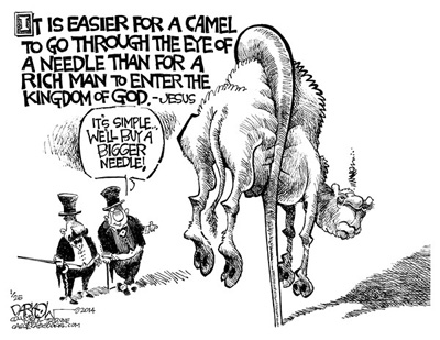 camel and the eye of the needle