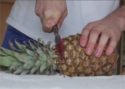 Pineapple abortion