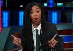 daily show jessica williams michael dunn