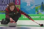 Ladies Olympic fart curling