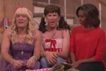 Jimmy Fallon, Will Ferrell and Michelle Obama