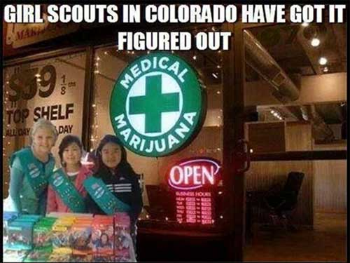 girl scout marijuana smart