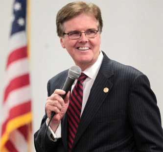 Dan Patrick denies he is compassionate