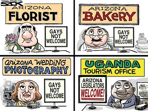 Arizona Republicans and Uganda bigotry