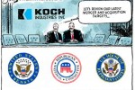 koch brother buy America