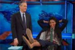 Jessica Williams annexes Jon Stewarts desk