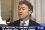 rand paul leads NRA attack on dr Vivek Murthy
