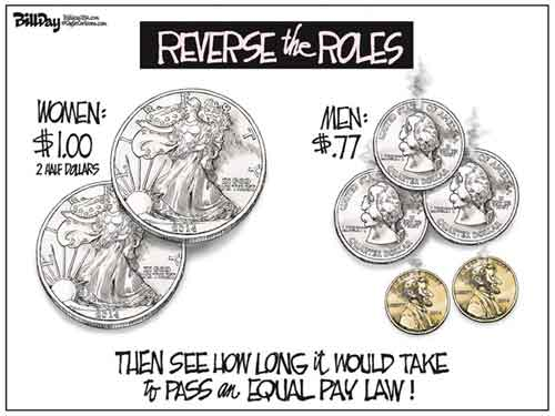 Equal Pay Reversal, bill day