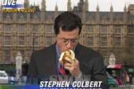 Stephen colbert replaces david letterman