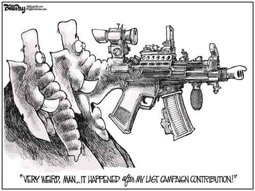 Republicans have assault rifles up their nose