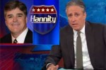 jon stewart loves sean hannity