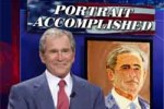 george w bush the artist daily show