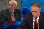 jon stewart makes fool of torture king Kicg Cheney