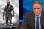 jon stewart, noah movie not real