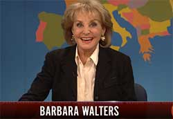 weekend update with barbara walters