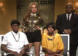 SNL Jay Z and Solange