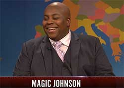 SNL weekend update magic johnson