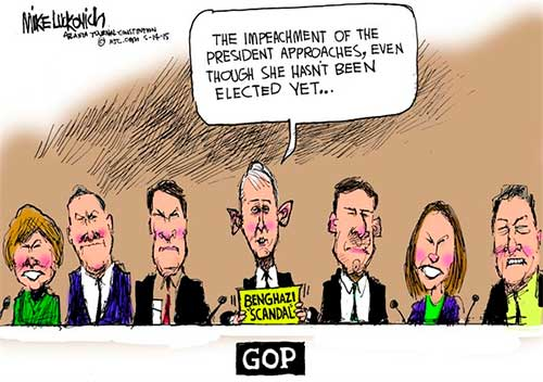 Benghazi impeachments
