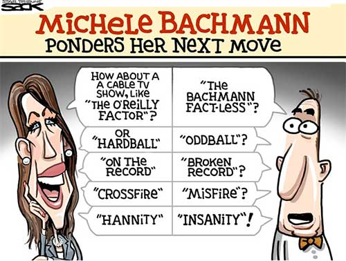 Michele Bachmann, whats next