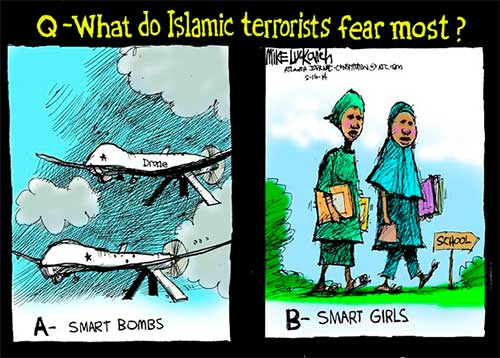 Smart  bombs and smart girls