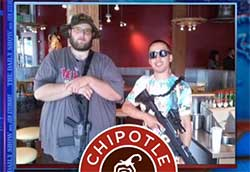 chipotle versus gun enthusiasts