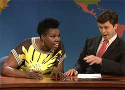 weekend update with Leslie Jones