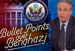 bullet points over benghazi