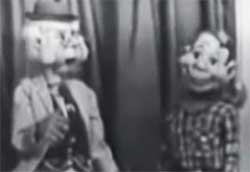 howdy doody and Mr Bluster