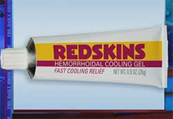 redskins hemorrhoid cream