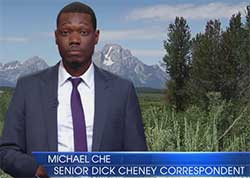 michael che on Dick Cheney mea culpa