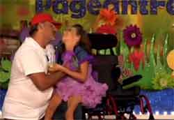 Kenzi dancing with dad