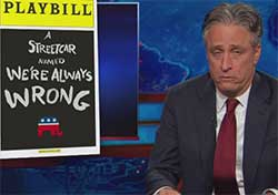 Republicans Always Wrong, Daily Show