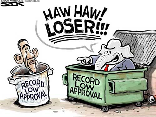 Approval Ratings, Steve Sack cartoonApproval Ratings, Steve Sack cartoon