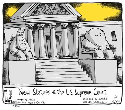 The political Supreme Court and  Clarence Thomas