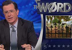 the poor door stephen colbert