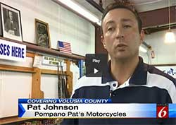 pompano pat;s, Pat Johnson