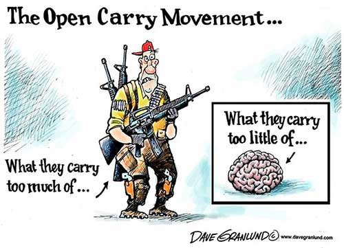 open carry little brains