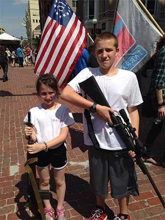 open carry children, parenting as bad as it gets
