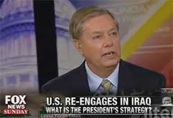 lindsay graham Isis to invade America homeland